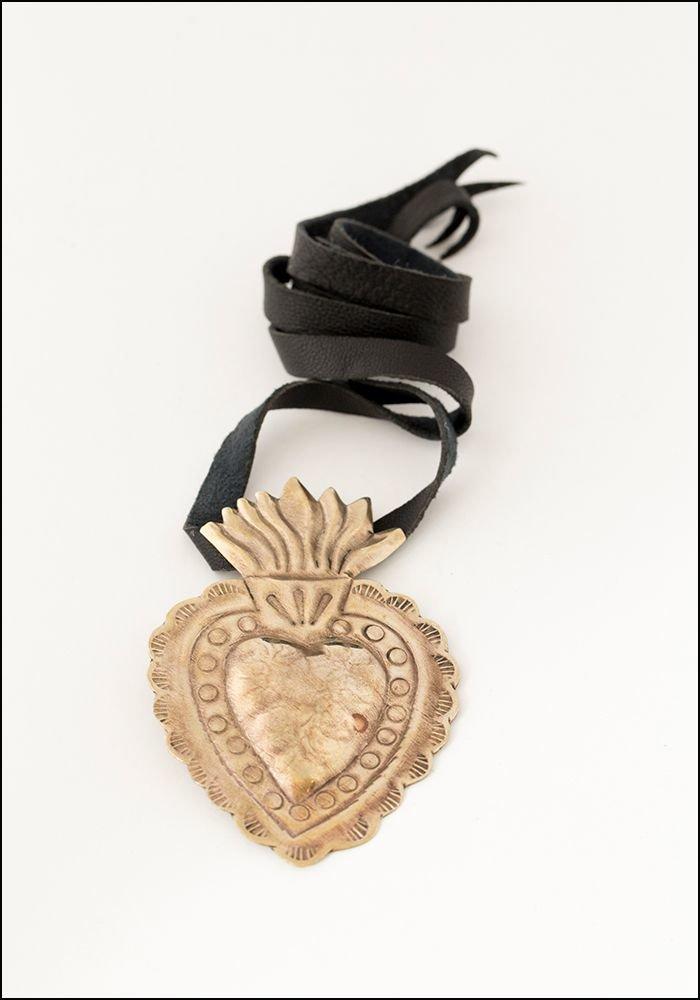 Tita Lopez Tita Lopez Milagro Sacred Heart Necklace