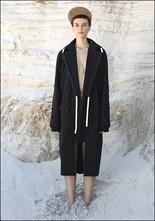 Between Between Long Oversized Coat