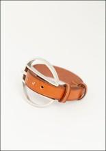 CXC Leather Wheel Buckle Bracelet