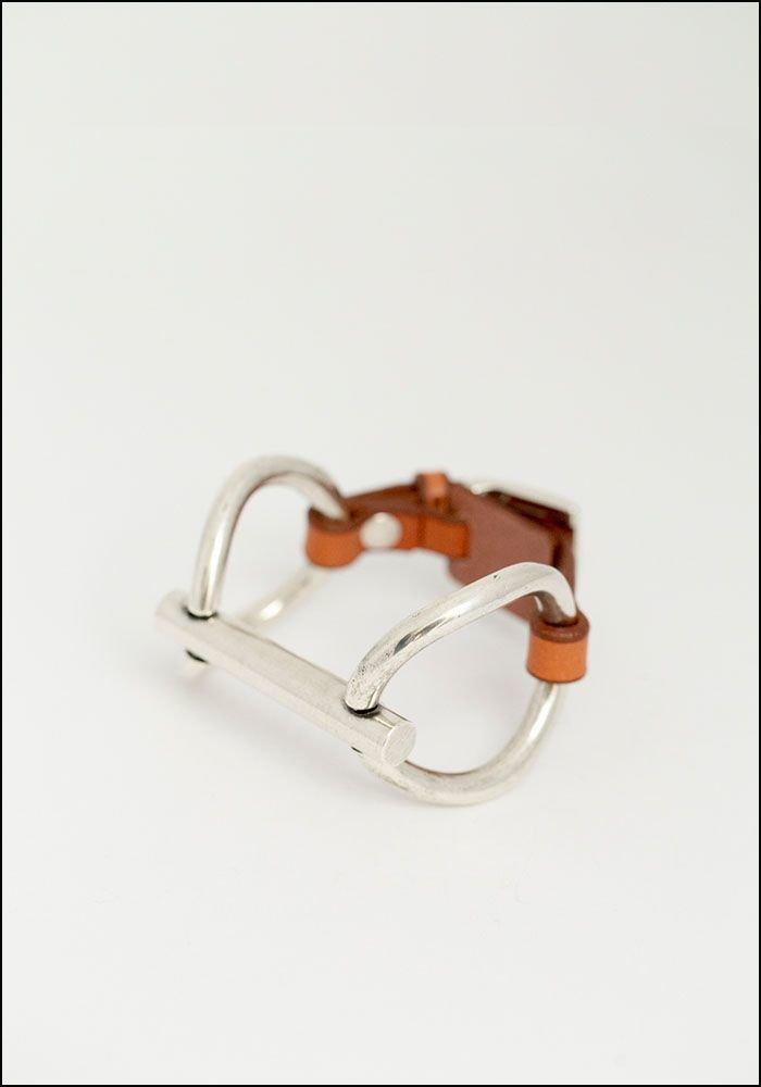 CXC Leather Connecter Bracelet