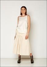 Between Between Wrap Linen Skirt