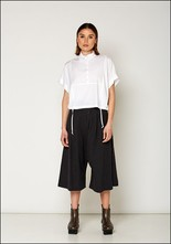 Lurdes Bergada Cropped Wide Leg Pants u19513