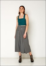 Lurdes Bergada Fitted Crop Top u19529