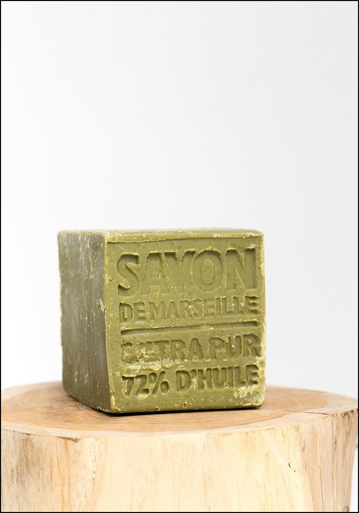 Cie de Luxe Marseille Olive Oil Soap Cube