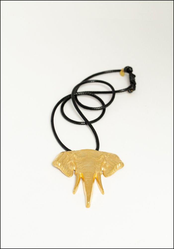 Lako Bukia Elephant Necklace