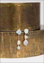 Variance Objects Australian Opal Day to Night Earring Set