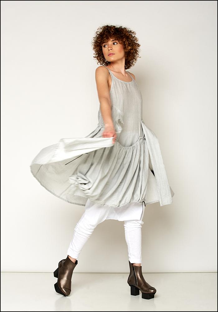 Rundholz Black Label Striped Oversized Dress