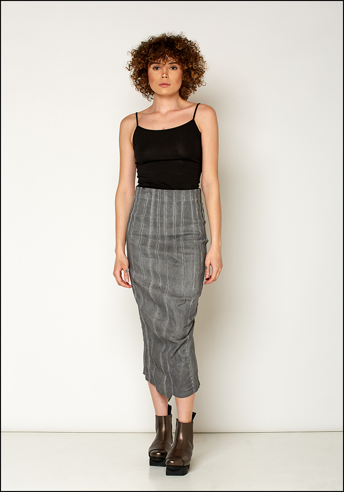 Rundholz Dip Fitted Skirt