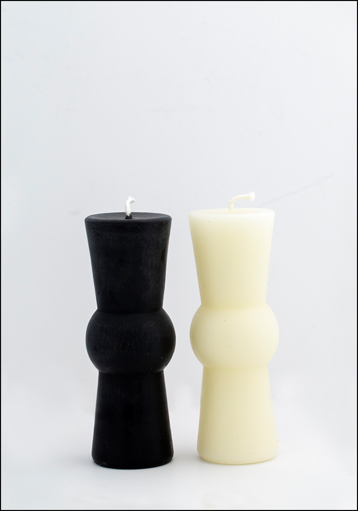 Greentree Beeswax Medium Pillar Candle