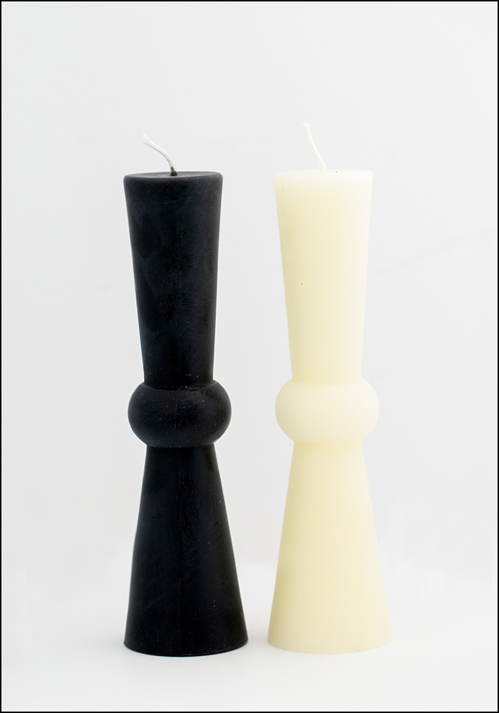 Greentree Beeswax Tall Pillar Candle
