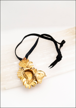 Tita Lopez Tita Lopez Golden Flame Milagro Necklace