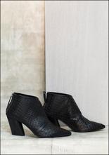 Halmanera Halmanera Woven Leather Bootie