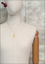 Robin Haley Robin Haley 14KT Diamond Bail Two Faces Artifact Necklace