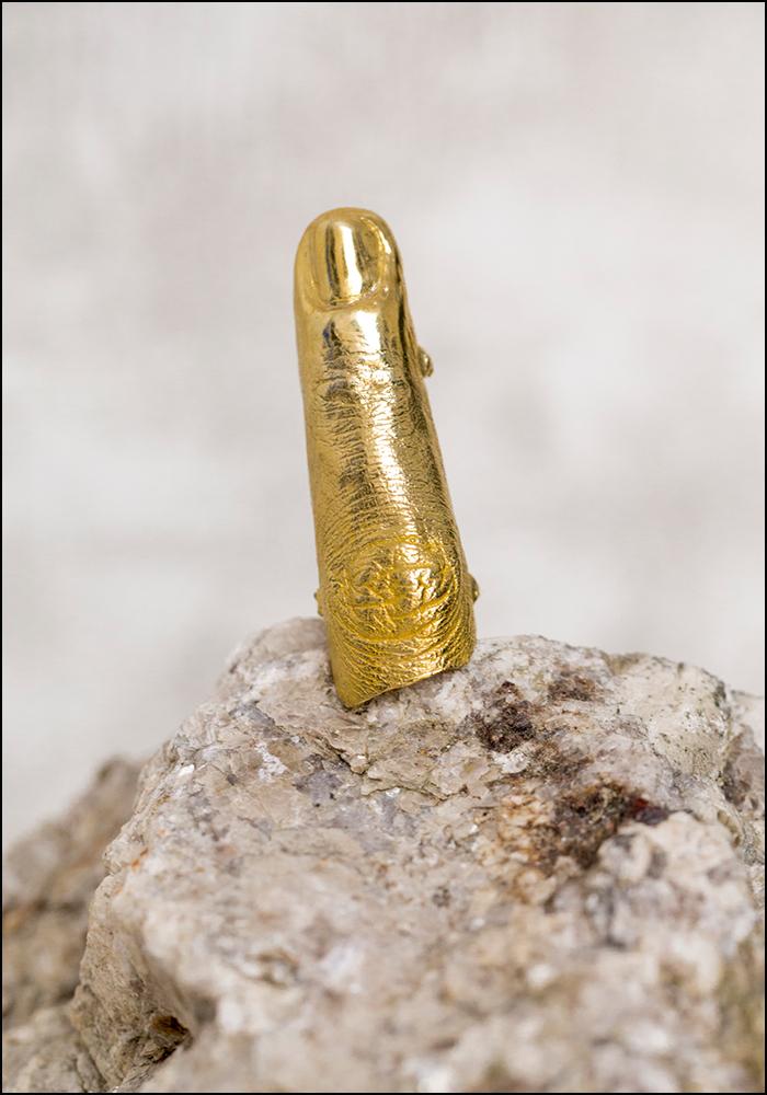 Angostura Golden Era Full Gold Finger Ring