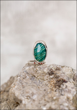 Angostura Silver and Stones Ring