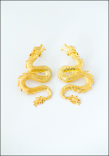 Lako Bukia Dragon Earrings