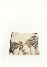 Zubi Zubi Large Printed Canvas Pouch