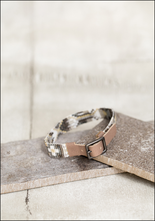Julie Rofman Julie Rofman Narrow Handwoven Tile Bracelet