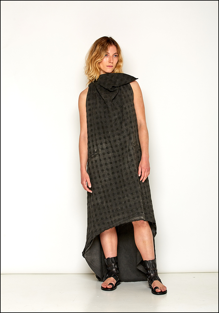 NostraSantissima NostraSantissima Asymmetric Textured Multi Layer Dress