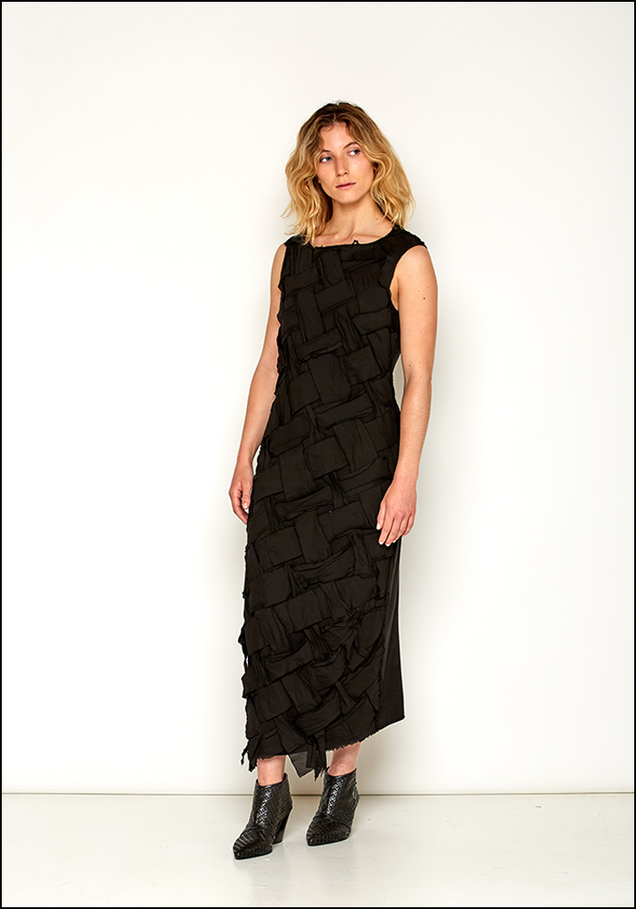 Rundholz DIP Strips Sleeveless Dress