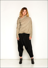 Rundholz DIP Asymmetric Off The Shoulder Sweater