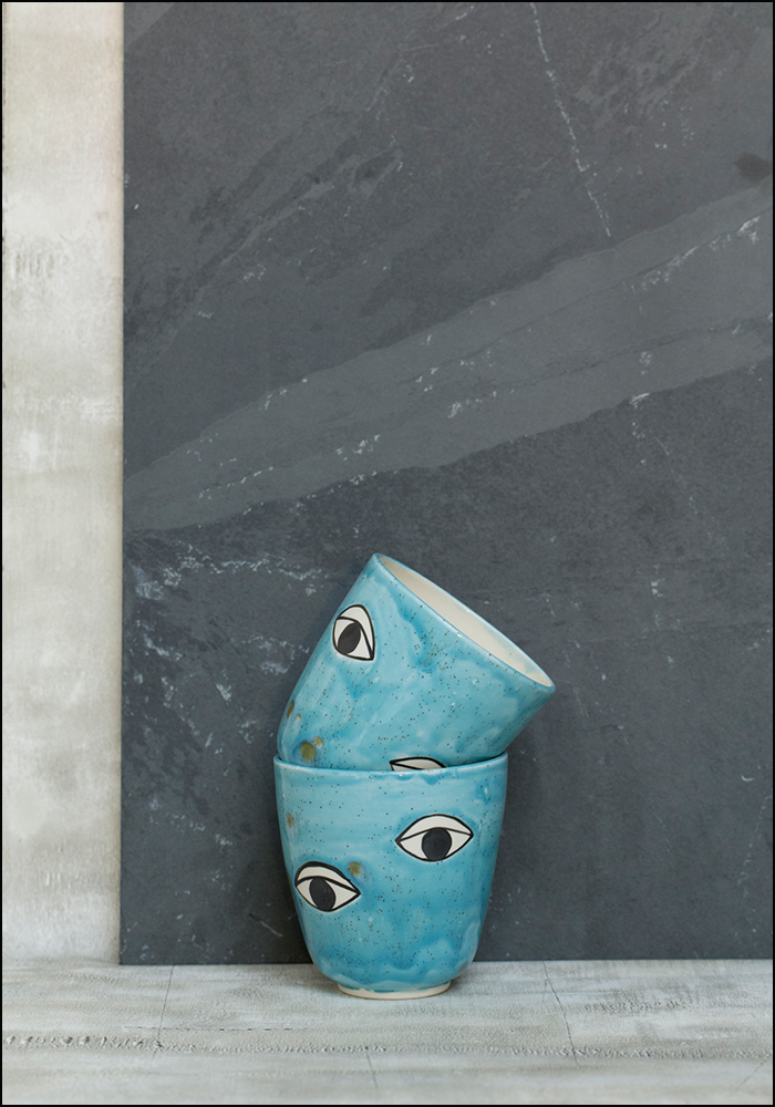 Demetria Chappo Blue Eyes Cup
