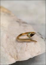 De La Rosa Baby Snake Ring