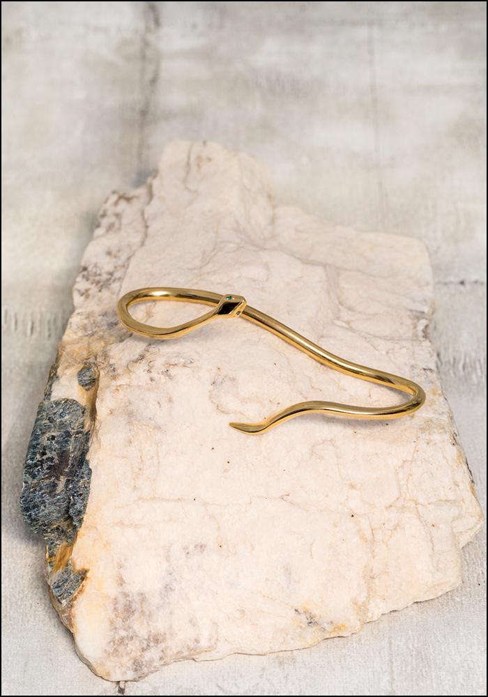 De La Rosa De La Rosa Snake Handcuff