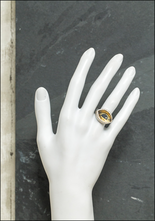 Acanthus Protective Eye Talisman Signet Ring