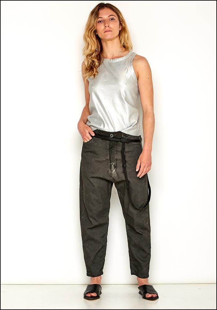 Rundholz Double Strap Leather Belt