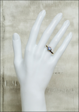 Variance Objects Delicate Blue Opal Ring