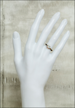Variance Objects Delicate White Opal Ring