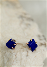 Variance Objects Large Lapis Studs