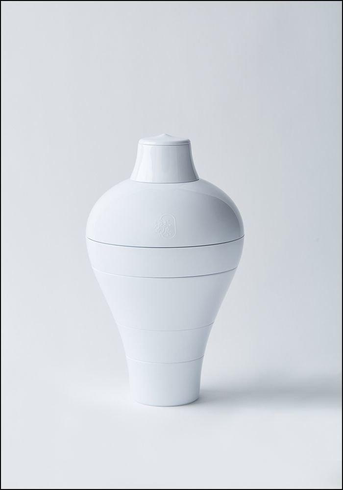 Ibride White Ming Stacking Bowl Set