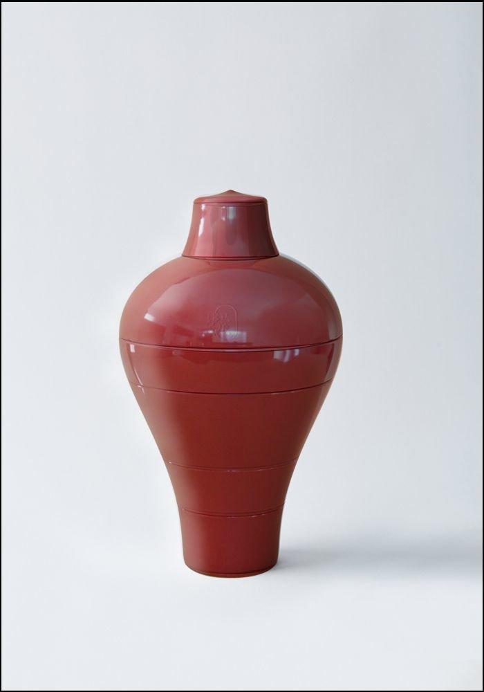 Ibride Red Ming Stacking Bowl Set