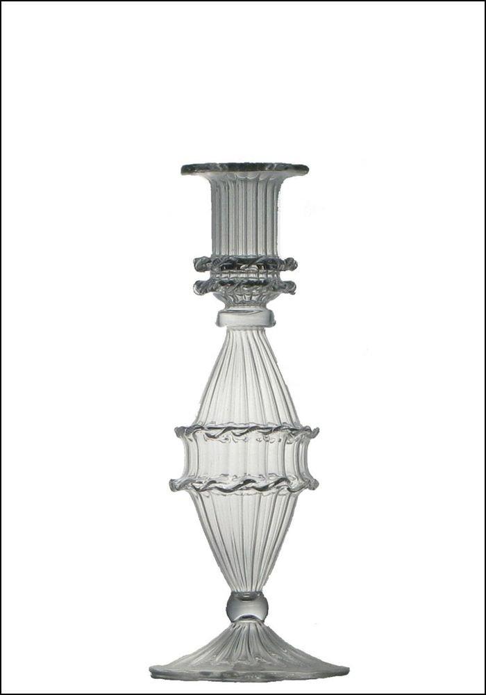 Golden Hills Glass Candlestick
