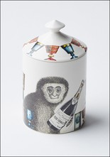 Fornasetti Scimmie Candle