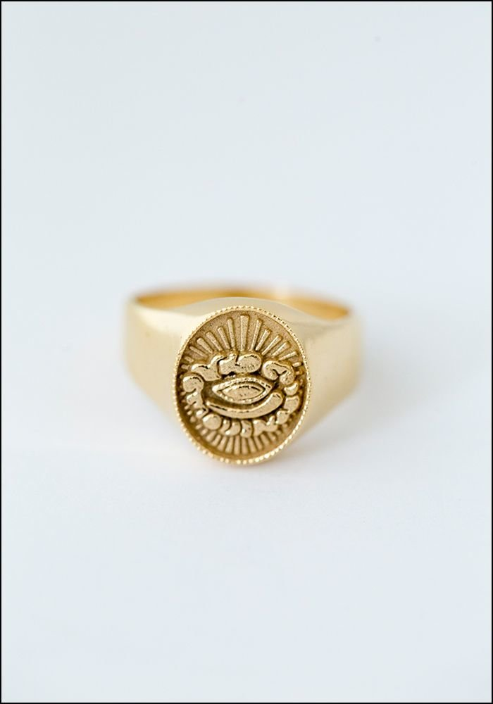 Avocet All Seeing Eye Ring