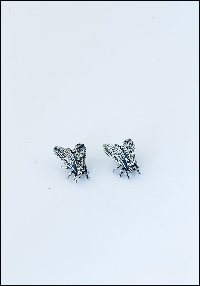 Avocet Silver Fly Ear Climbers