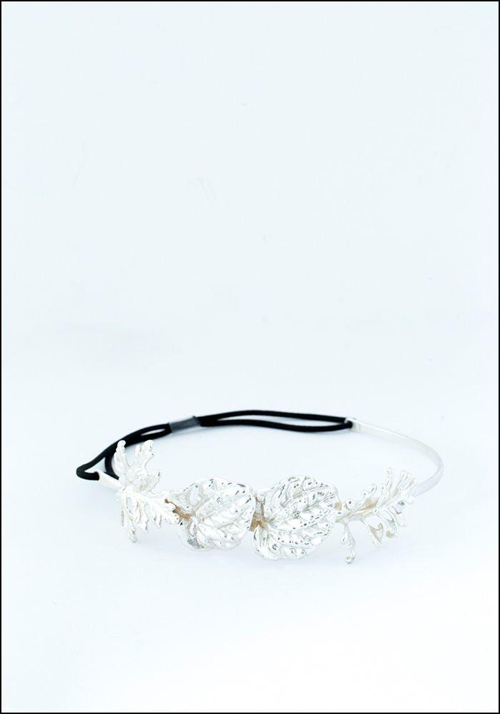 Belart Belart Silver Leaves Headpiece