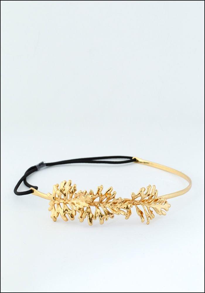 Belart Belart Gilded Leaves Headpiece