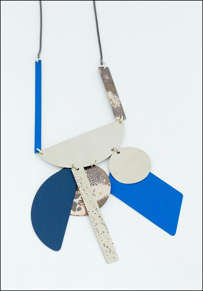 Sibilia Blue Good Fortune Necklace