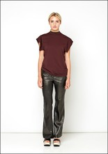 Nude Nude Metallic Flare Trousers