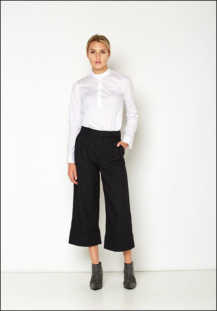 Even If Even If Cropped Wide Leg Pant