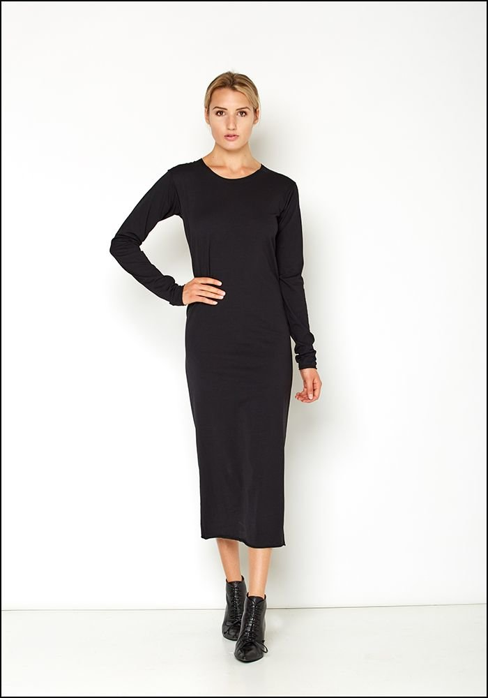 Serie Numerica S°N Jersey Long Sleeve Dress