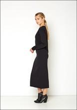 Serie Numerica S°N Jersey Long Sleeve Dress