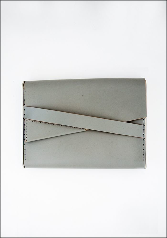 Industrial Jewelry Industrial Leather Clutch