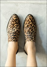 Freda Salvador Freda Salvador Cheetah Print Oxford