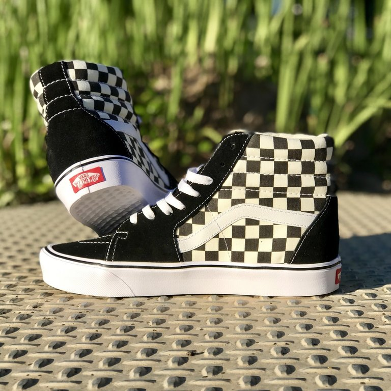 SK8-Hi Checkerboard Lite - Eight One