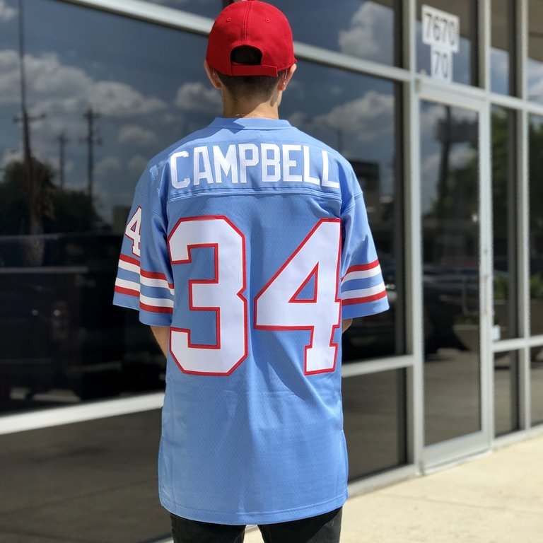 pretty nice bb8cc 41c84 Mitchell & Ness NFL Legacy Jersey Oilers Earl Campbell
